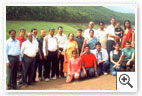 Group photo of participants along with spouse-Echo Point,Munnar- 2 Days Residential MDP on the Topic