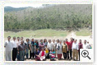 Participants at Eco point -  Munnar